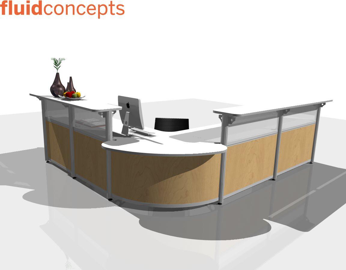 Mobili Reception ~ Reception stations q r v visit fluidgroup