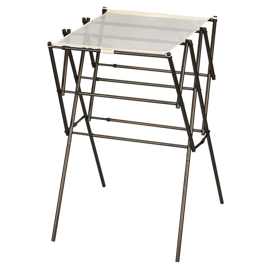 Shop Household Essentials Metal Drying Rack at Lowes.com ...