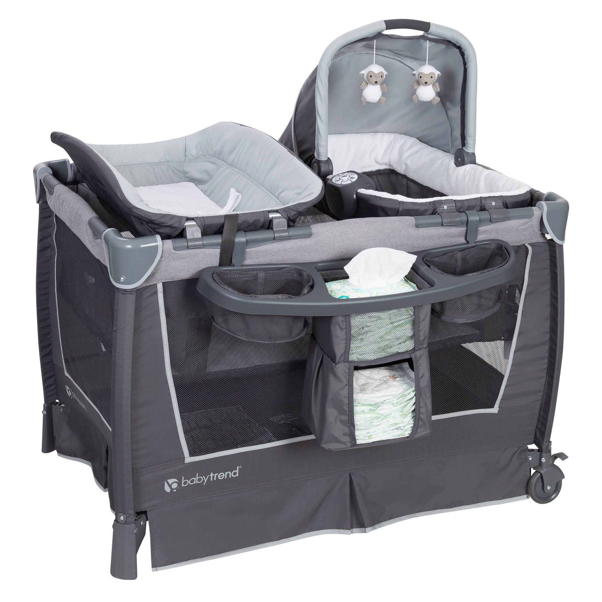 Baby Trend Retreat Nursery Center Robin Nursery twins