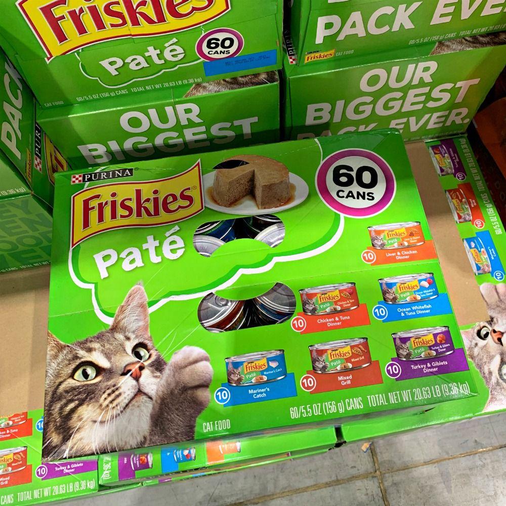 Friskies Cat Food Costco Cat Products In 2020 Friskies Costco