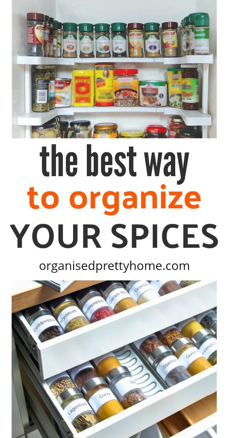 The Best Way To Store Spices | Pantry shelving, Shelving and Pantry