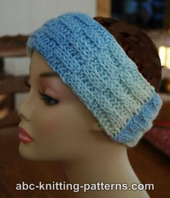 Free Headband Knitting Pattern Head Bands Ear Warmers