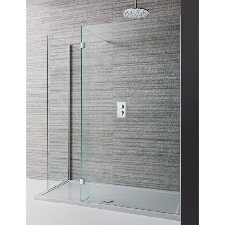 Crosswater Design View Double Sided Walk In Shower Enclosure 2