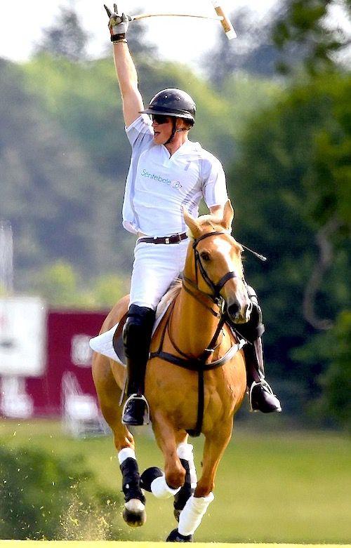 Polo and Prince Harry