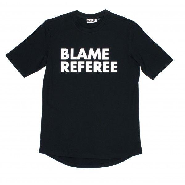 8c28864784d1 Blame Referee Shirt Black - BALR.   Футболки   Shirts, Referee ...