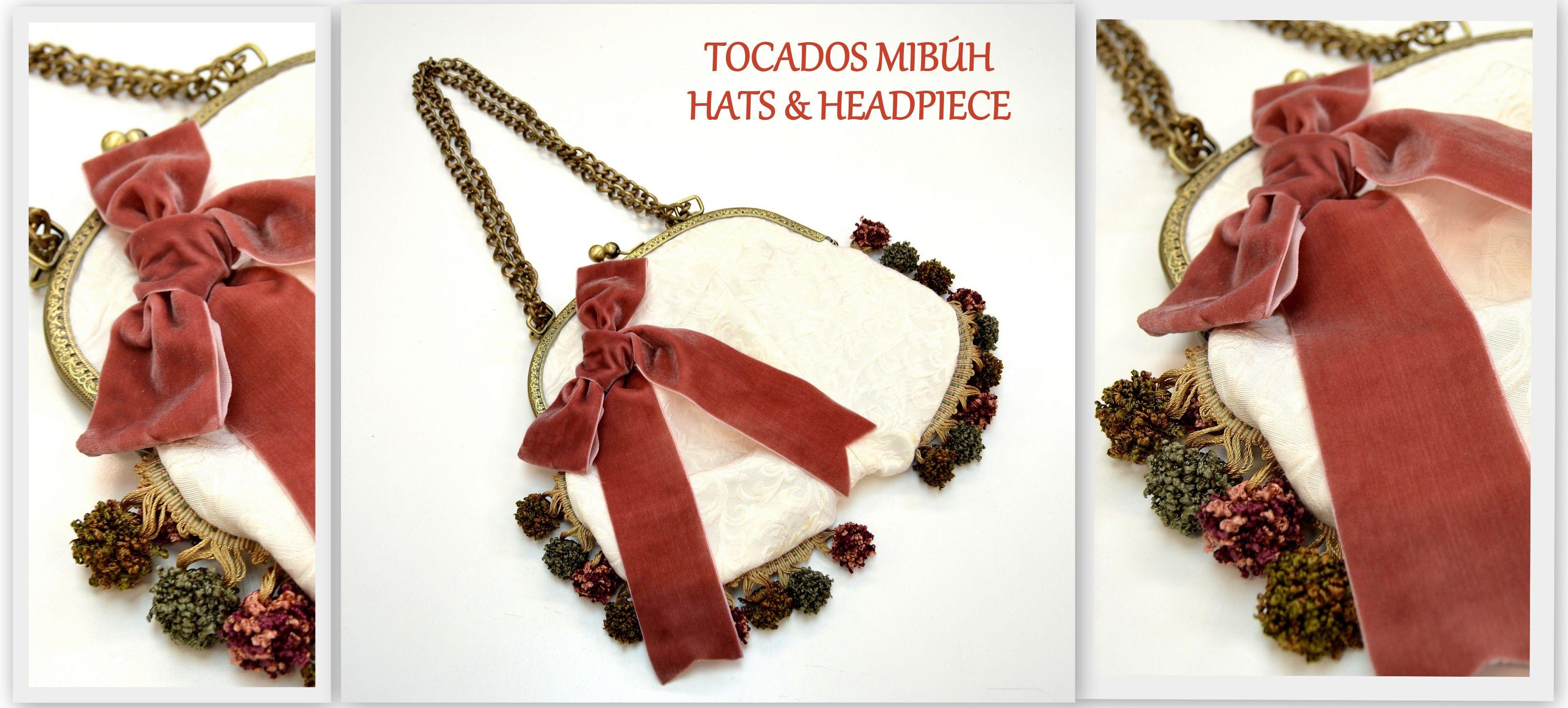 vintage bags#diseño exclusivo de bolsos a medida#sevilla#tomares#mibuh hats & headpieces#