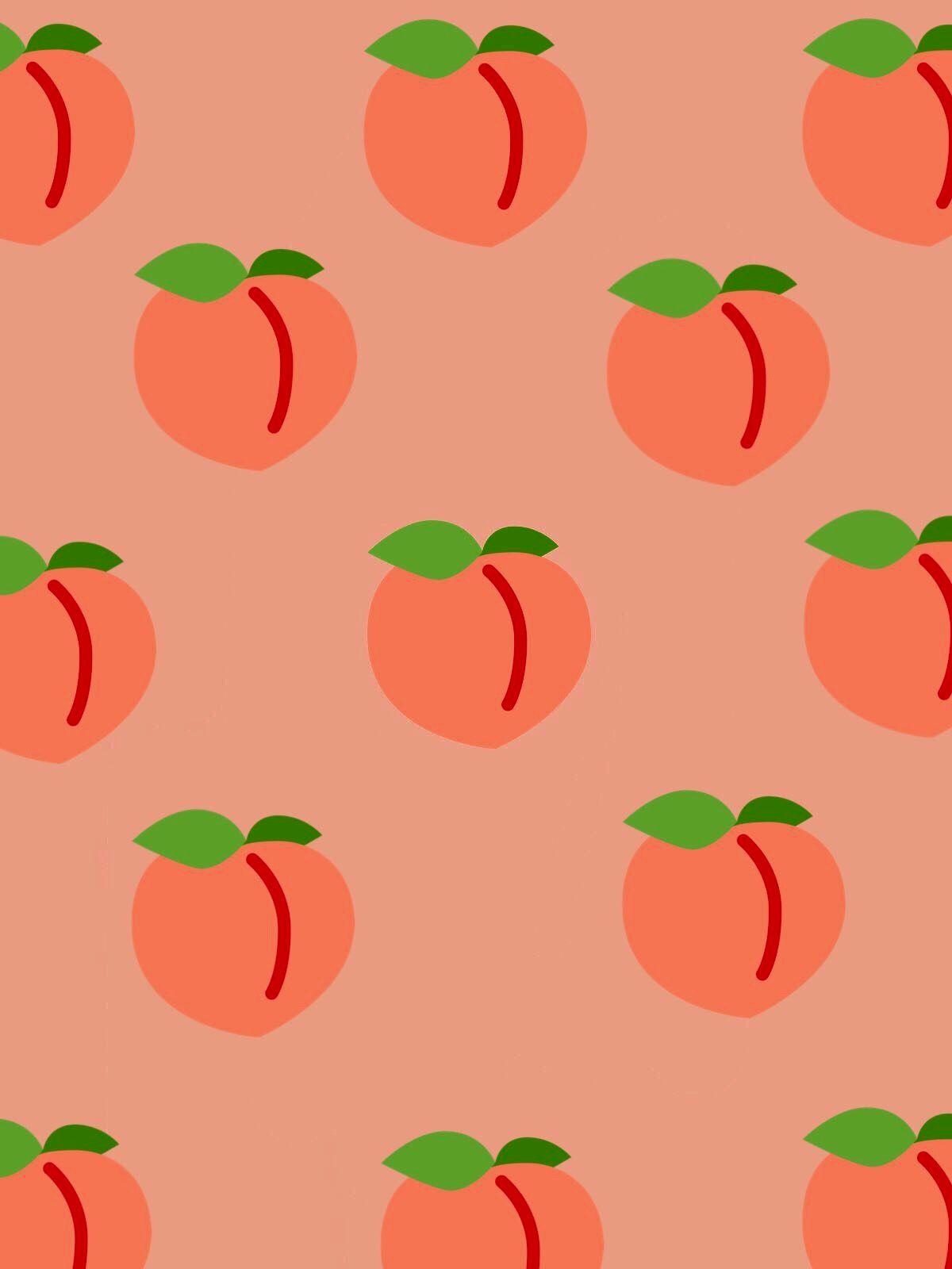 Pinterest Jasminejmuir Peach Wallpaper Peach Aesthetic Fruit Wallpaper