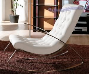 Magnificent Ultra Modern White Rocking Chair Interior Design Bralicious Painted Fabric Chair Ideas Braliciousco