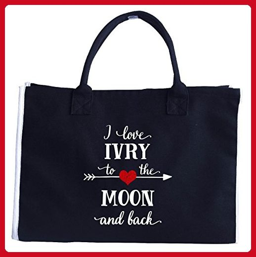 I Love Ivry To The Moon And Back.gift For Boyfriend - Tote Bag - Totes (*Amazon Partner-Link)