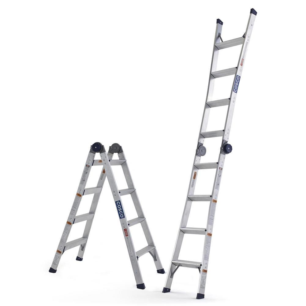 Search Results For Folding Ladder At The Home Depot In 2020 Cosco Ladder Aluminium Ladder