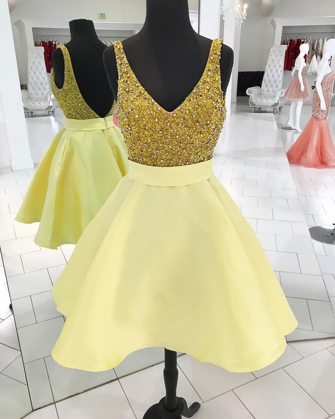 Sparkly sequins short gold homecoming dress party dresu etsy