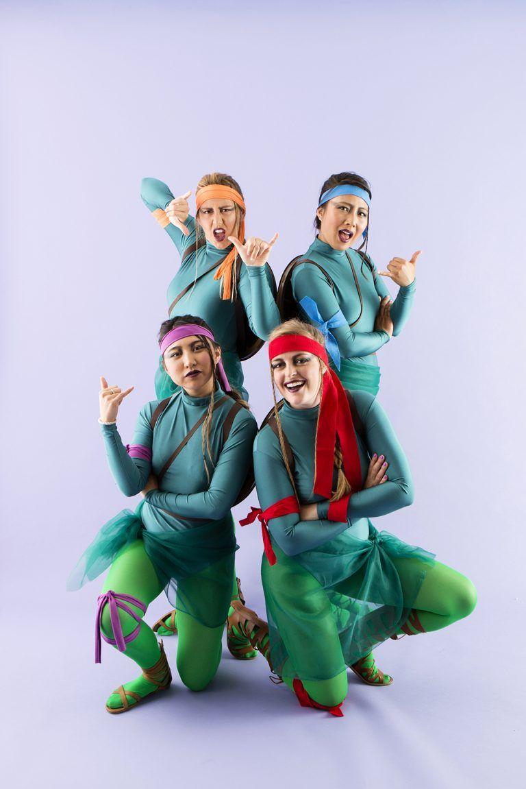 Bookmark this diy group halloween costume tutorial to dress your bookmark this diy group halloween costume tutorial to dress your crew up as the teenage mutant ninja turtles solutioingenieria Image collections