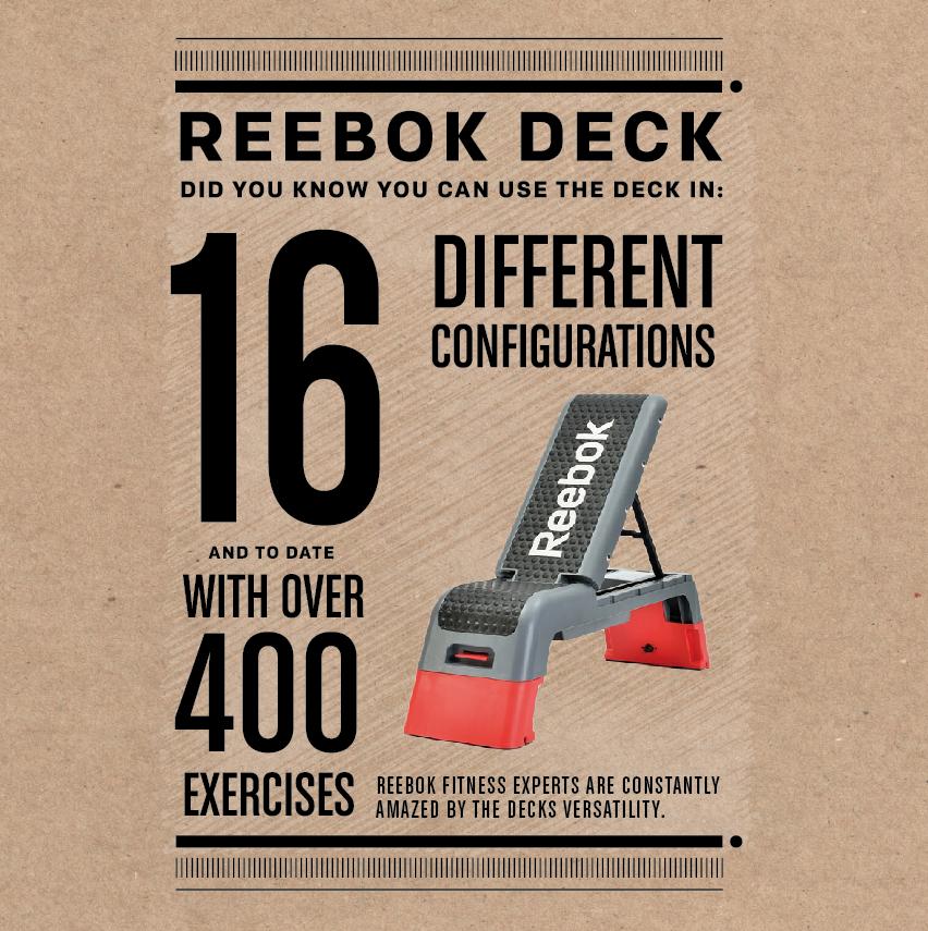 reebok step workout