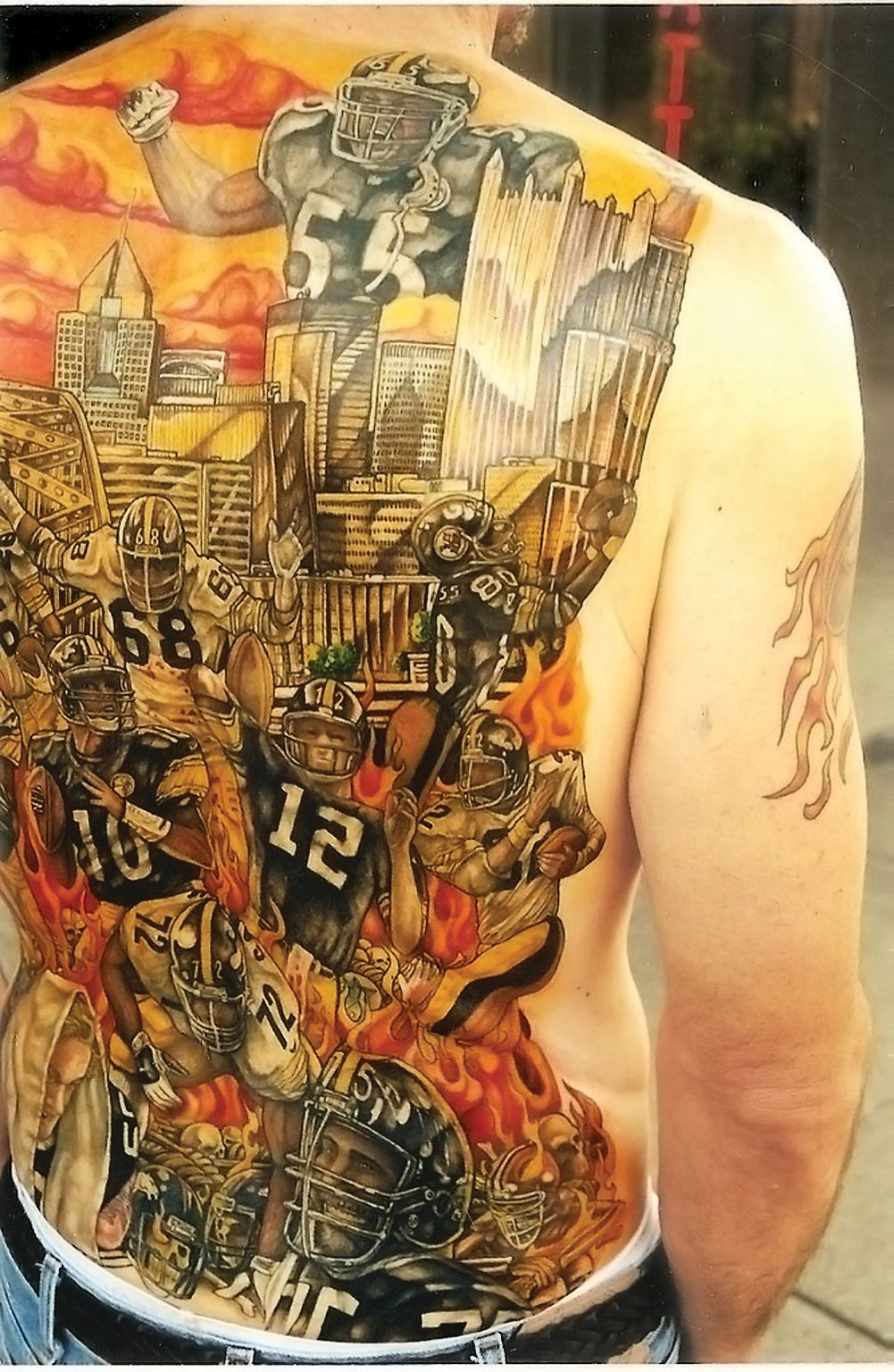 Awesome! logo tattoos, | Pittsburgh Steelers steelers