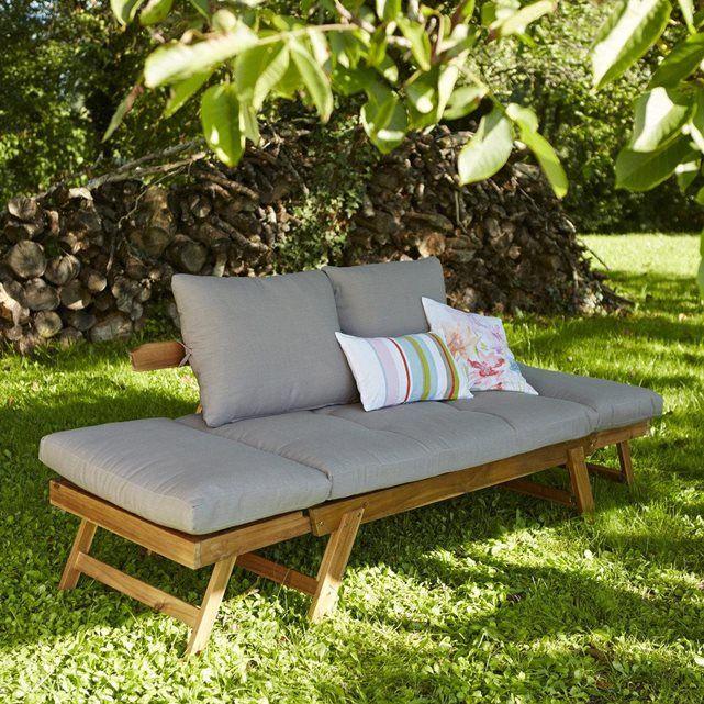 pour un confort absolu au jardin canap m ridienne avec ou sans accoudoirs ce canap s. Black Bedroom Furniture Sets. Home Design Ideas