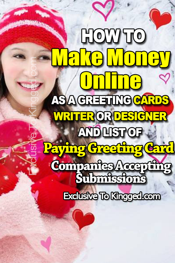 How to make money online as a greeting cards writer or designer and how to make money online as a greeting cards writer or designer and 20 paying greeting m4hsunfo