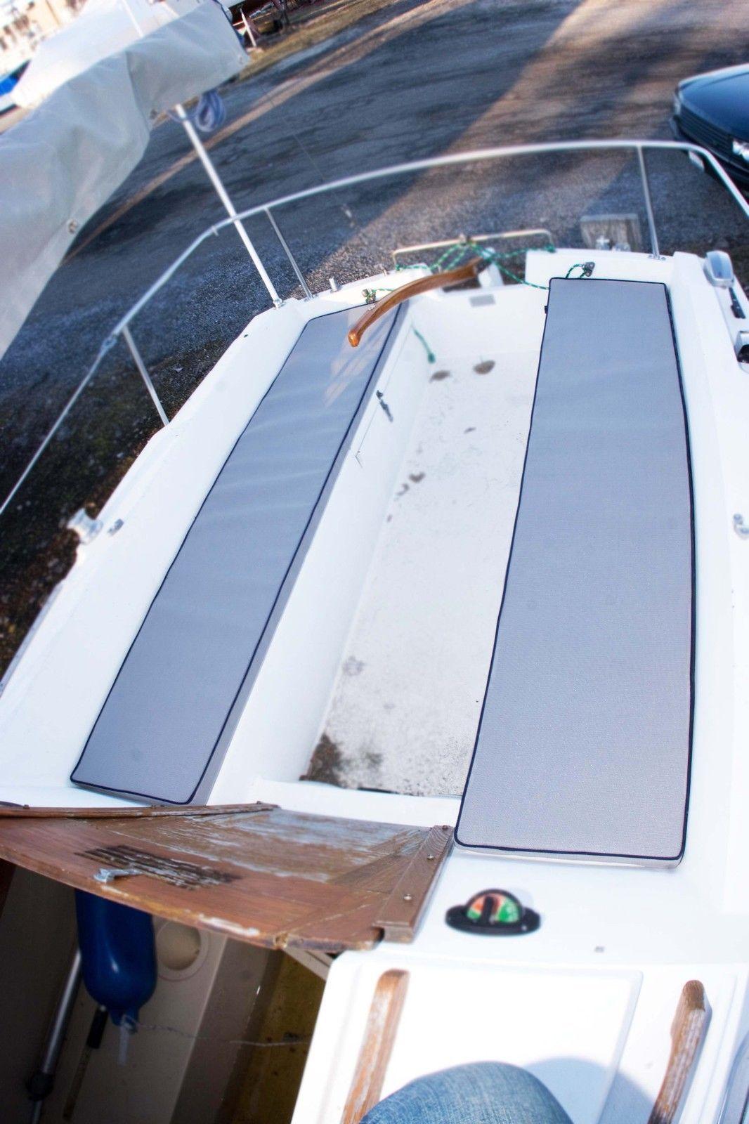 small resolution of catalina 22 sailboat cockpit cushions new ebay