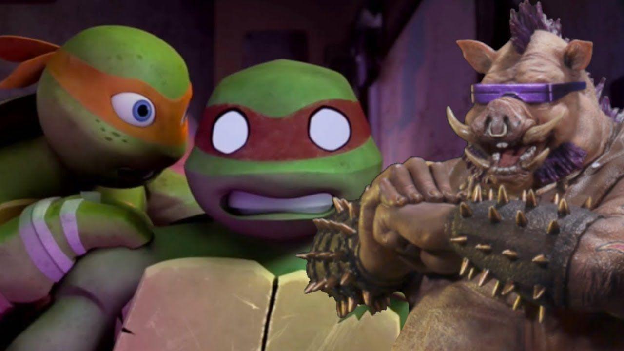 ninja turtles 2012 bebop rocksteady