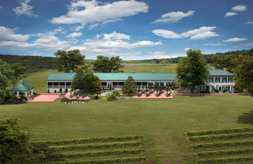 Vineyard Missouri Wedding Wine Country Gardens In Defiance Mo