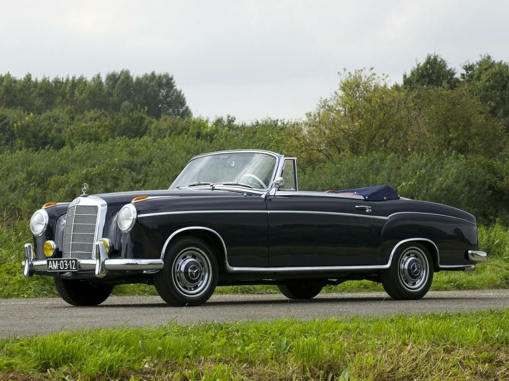 1958 Mercedes Benz 220 S Coupe Chassis Car Mercedes Benz Cars