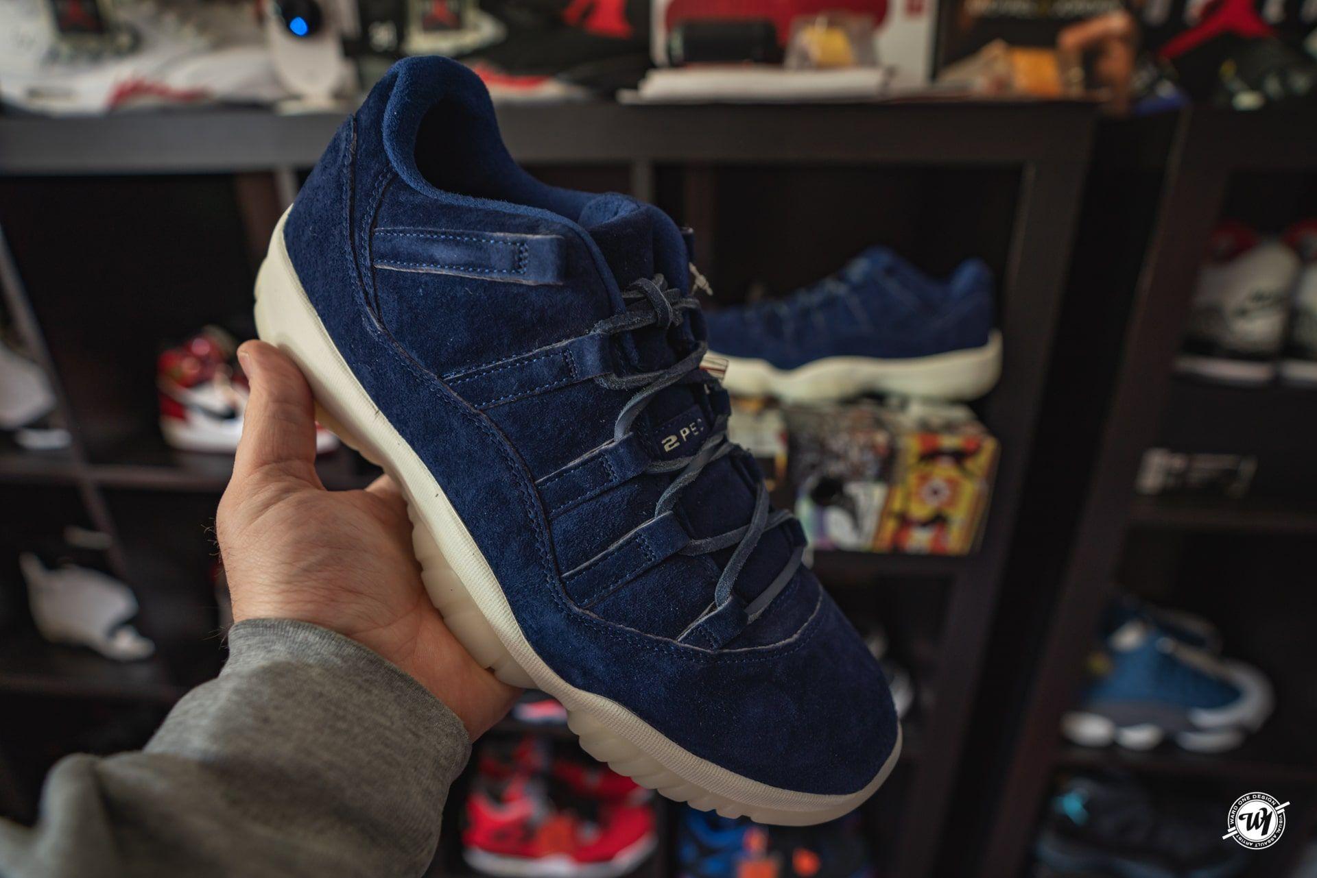 f33229dfc7e0 Derek Jeter • Air Jordan XI Low Binary Blue