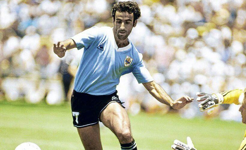 Image result for alemania vs uruguay mexico 86 alzamendi