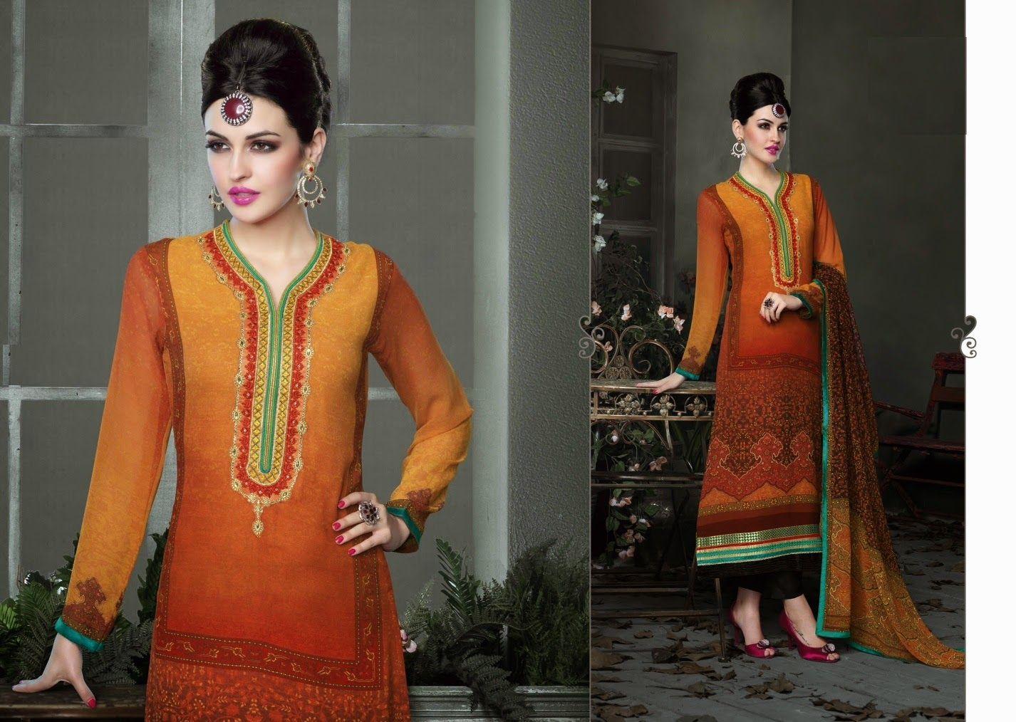 Stylish Printed #SalwarSuit  #craftshopsindia