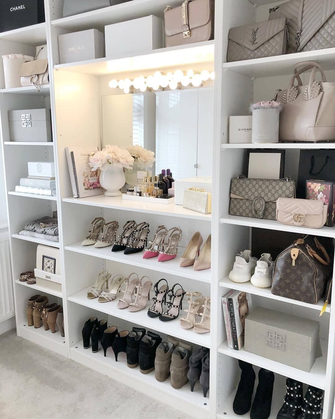 Glamour Queen Closet Decor Dressing Room Design Closet Design