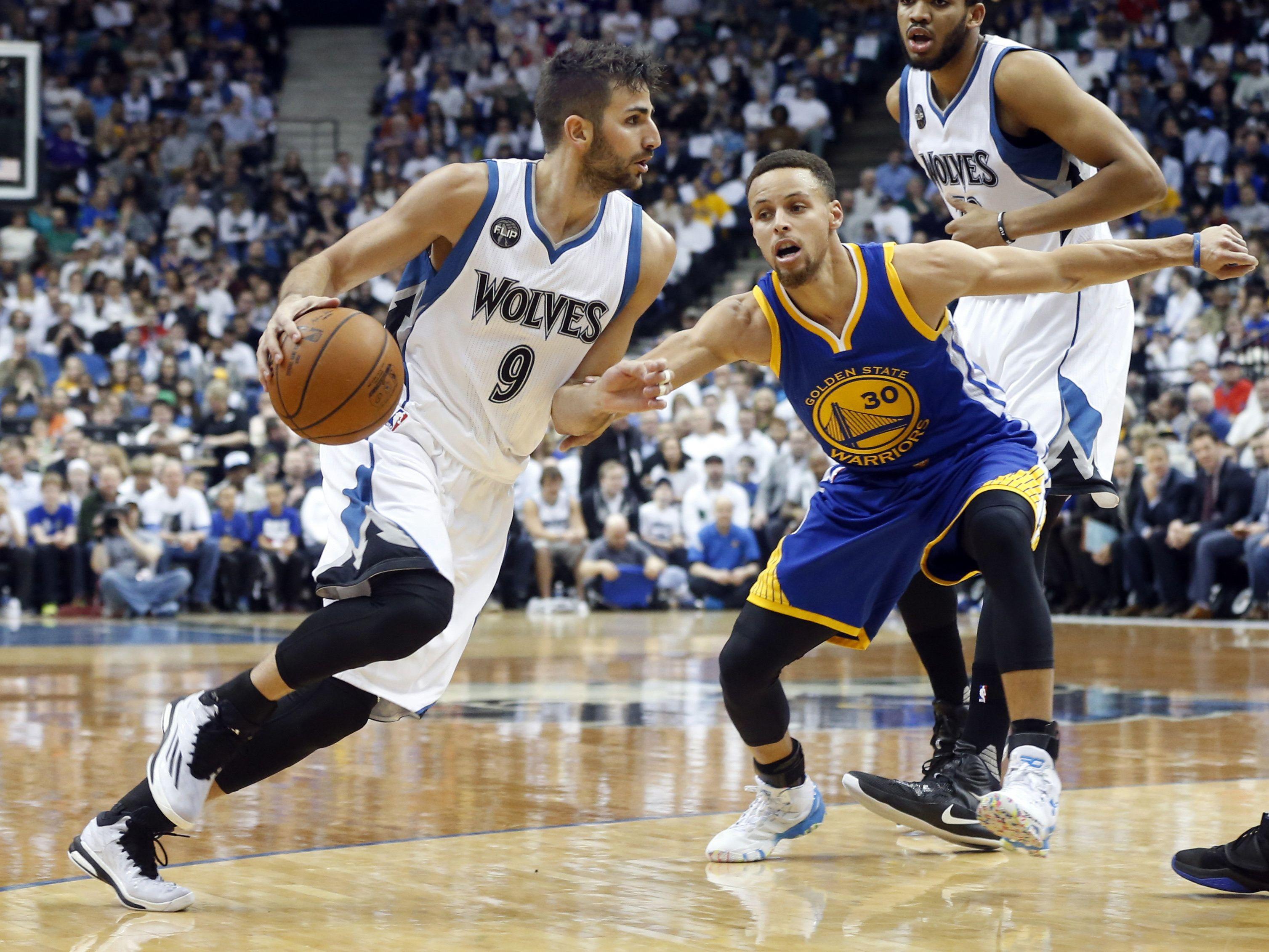 Ricky Rubio Flashes Rare Dunk In Pregame Warmups Minnesota Timberwolves Pregame Warmup