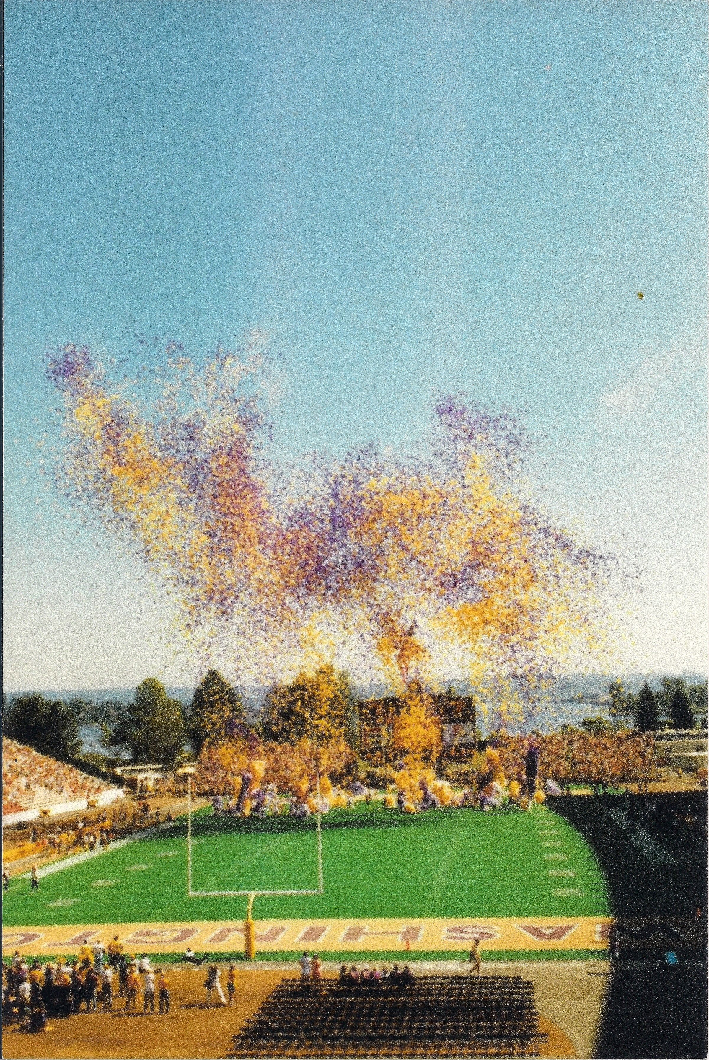 Husky stadium 1987 university of washington