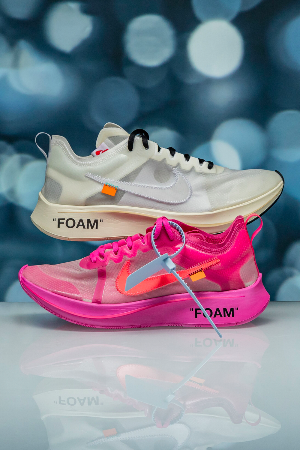 Off-White x Nike Zoom Fly in 2020