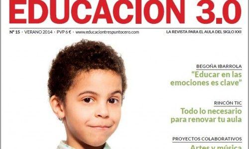¡Número 15 de la revista Educación 3.0 y versión digital reducida!