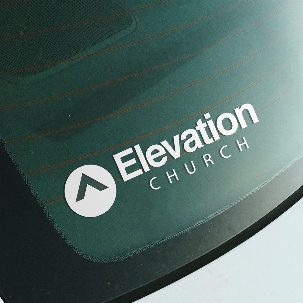 Elevation Church Car Decal Car Decals Church Logo Church [ 1024 x 1024 Pixel ]