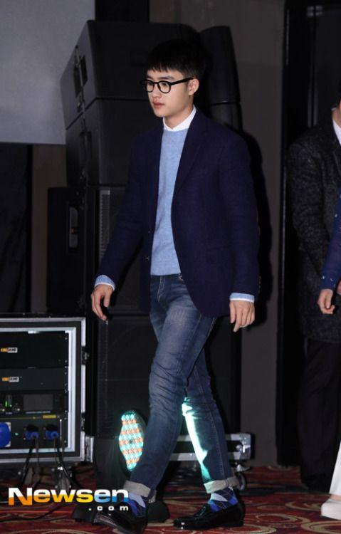 D.O - 160122 'Pure Love' Seoul Showcase Credit: 뉴스엔/Newsen. ('순정' 서울 쇼케이스)