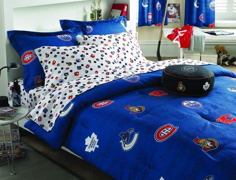 Nhl comforter available from walmart canada shop and save home pets at everyday low