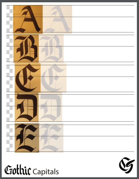 calligraphy practice sheets free
