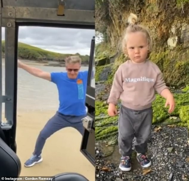 Gordon Ramsay and son Oscar dance in viral TikTok