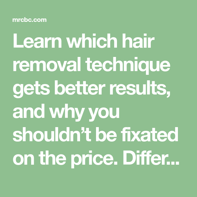 The Difference Between Ipl Hair Removal And Laser Hair Removal Hair Removal How To Remove Ipl Hair Removal