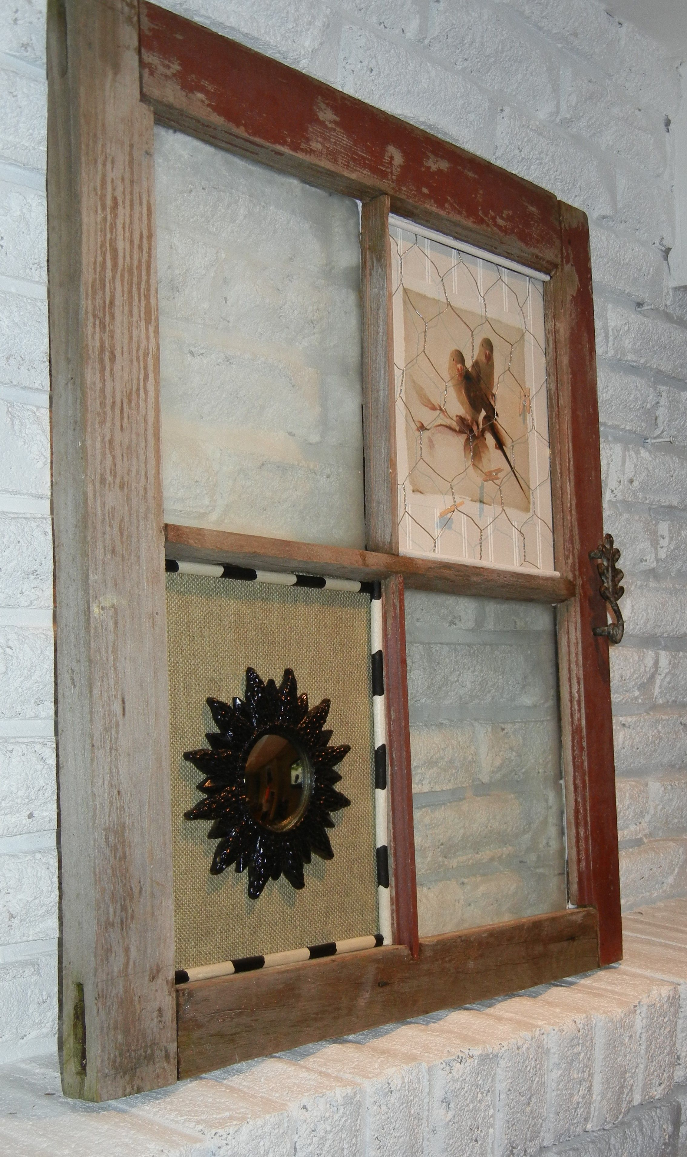 Reclaimed Ontario window frame (With images)   Window ...