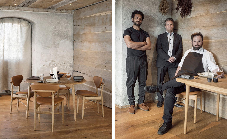Monument Men Chef Thorsten Schmidt And Sn Hetta Remodel The House  # Muebles Janine Bogota