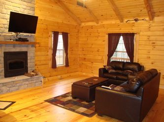Twin Oaks Cabin Rental In Natural Bridge State Park From Scenic Cabin  Rental Is The Perfect