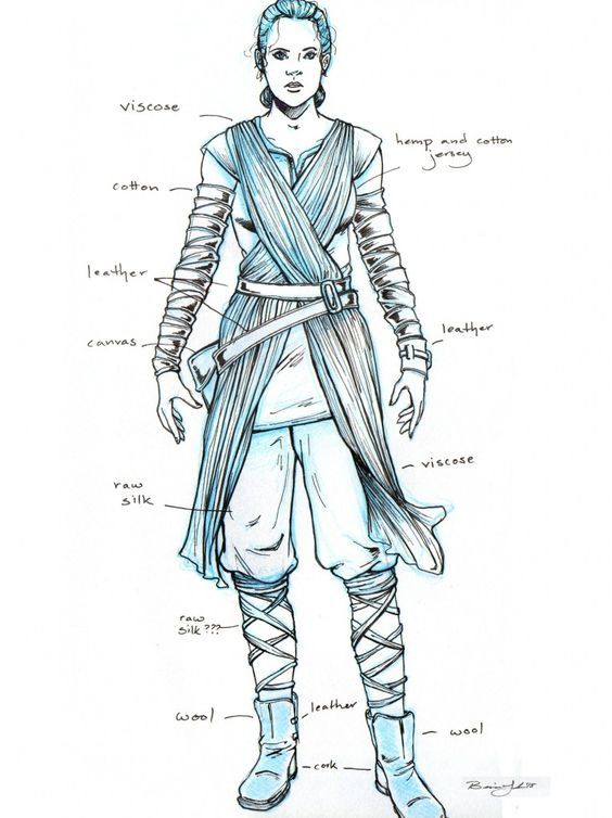 How to Make Your Own Star Wars Rey Costume | Rey costume diy, Home ...