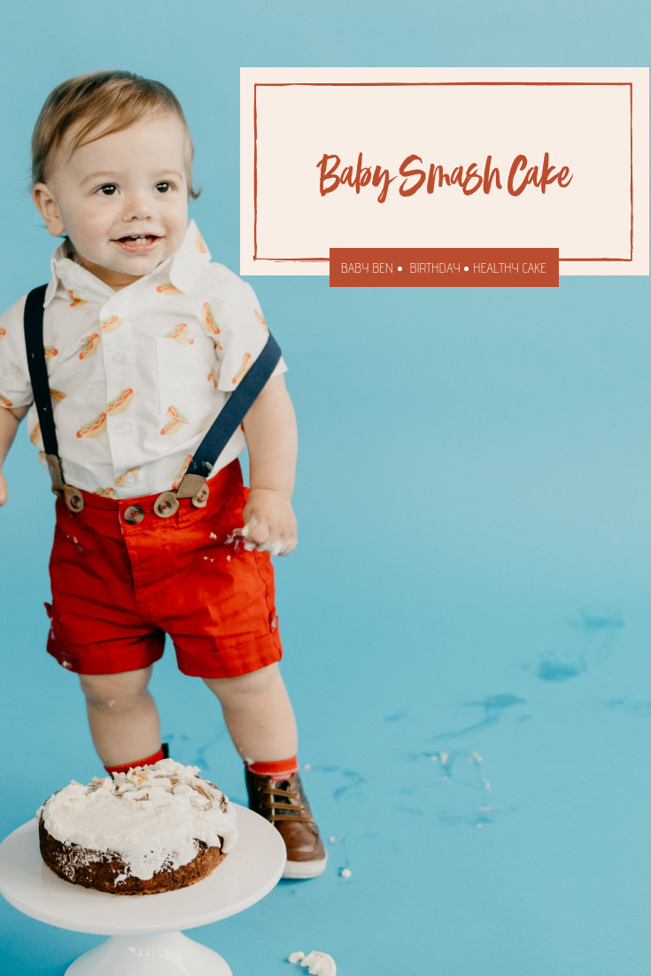 038be300ba5d How to Make a Baby Smash Cake   a Simple 1st Birthday Party