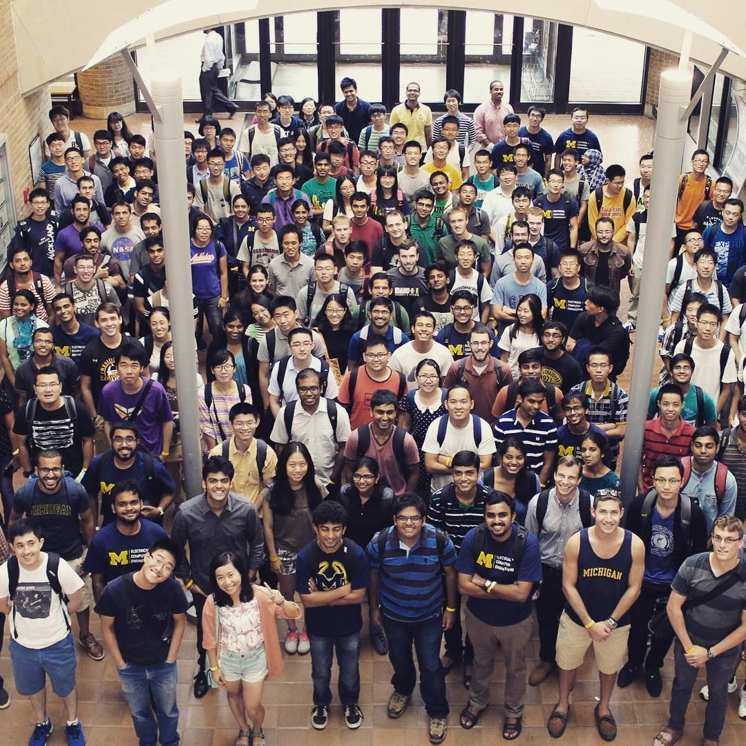 Michigan electrical engineering grad class of 2015