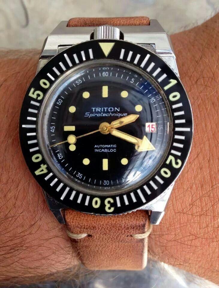 30596c2917a Triton Spirotechnique Vintage Dive Watches
