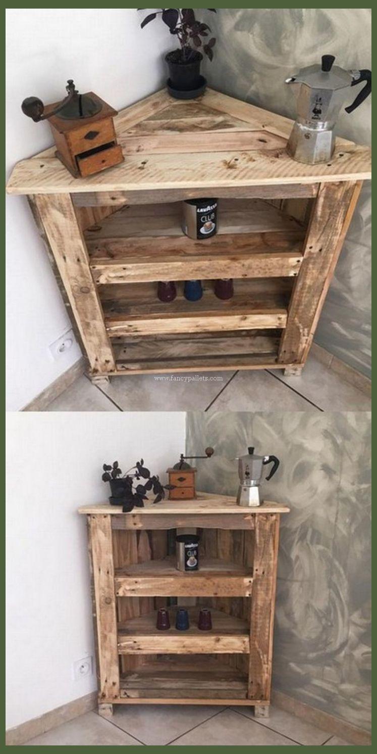 Diy Pallets Corner Cabinet Design Pallet Wood Projects Diy