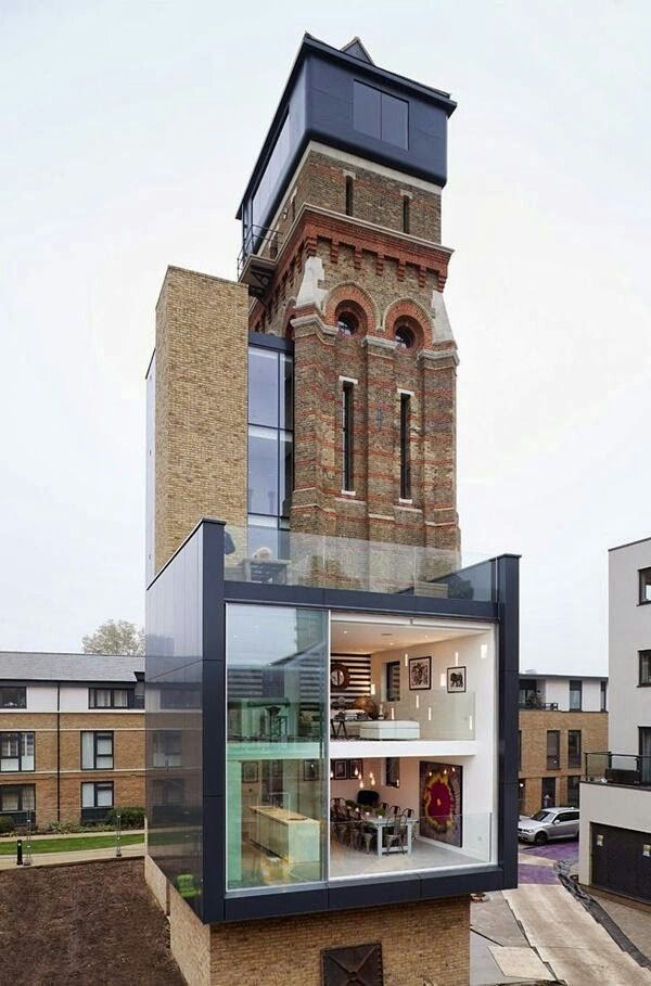 Converted Water Tower In South London Architectural Design