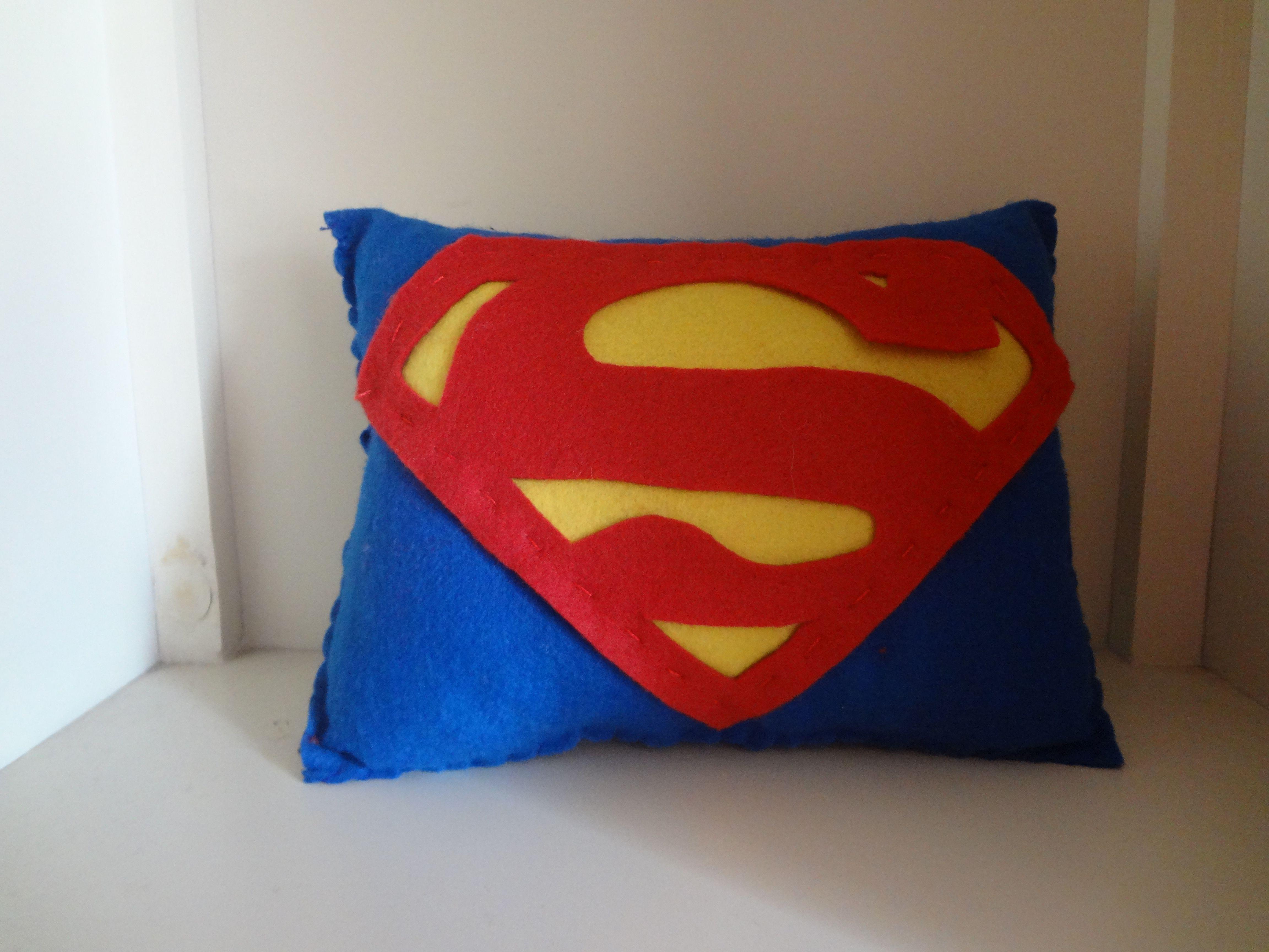 Hacer Cojines Fieltro.Cojin De Superman De Fieltro Plushies Diy Munecos De
