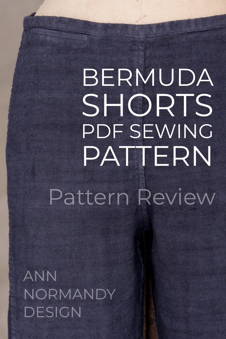 ANN NORMANDY SHORTS SEWING PATTERN REVIEW BLOG -   17 DIY Clothes No Sewing shorts ideas