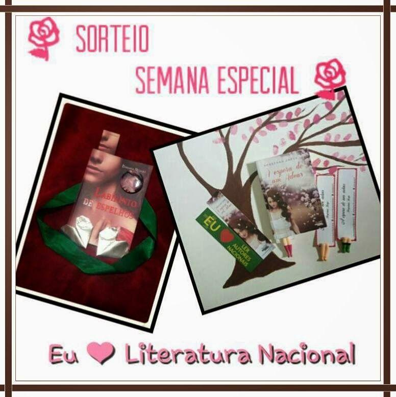 As Leituras da Mila: Sorteio # Semana Bárbara Negrão & Jorgeana Jorge
